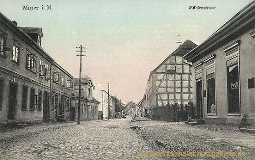 Mirow, Mühlenstraße