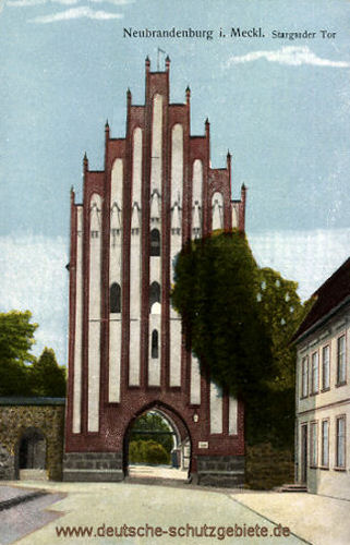 Neubrandenburg, Stargarder Tor