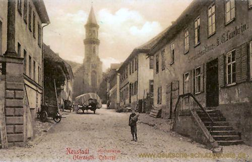 Neustadt (Herzogtum Coburg), Kirchstraße