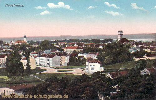 Neustrelitz, Stadtansicht