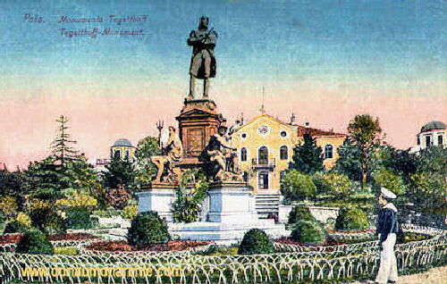 Pola, Tegetthoff-Monument