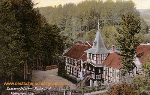 Roda, S.-A., Weihertalmühle
