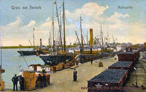 Rostock, Hafenpartie