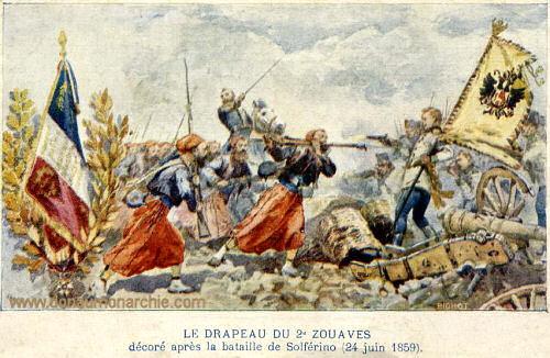 Die Schlacht von Solferino, 1859