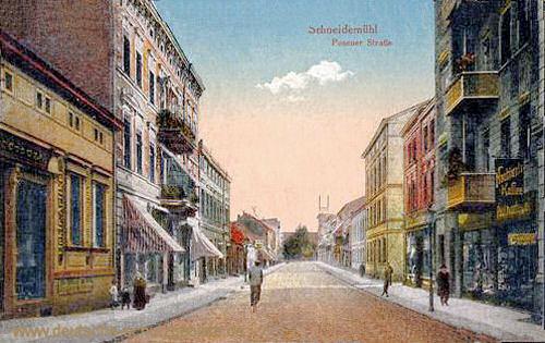 Schneidemühl, Posener Straße