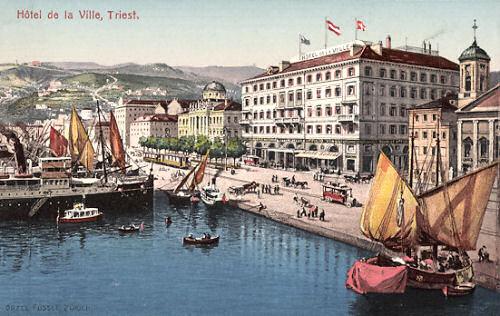 Triest, Hotel de la Ville