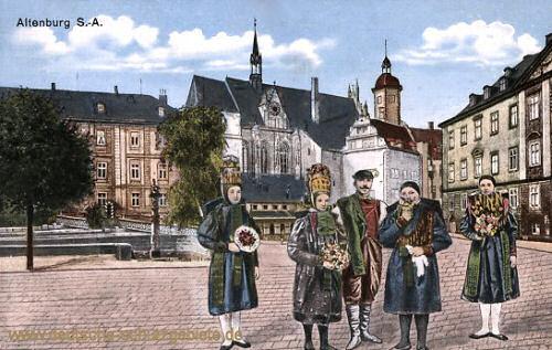 Altenburg, Bauerntrachten