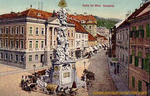 Baden bei Wien, Hauptplatz