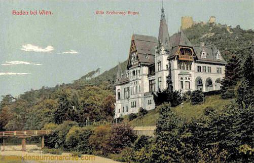 Baden bei Wien, Villa Erzherzog Eugen