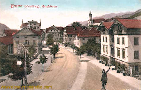 Bludenz (Vorarlberg), Hauptstraße