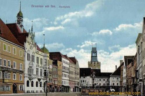Braunau am Inn, Stadtplatz