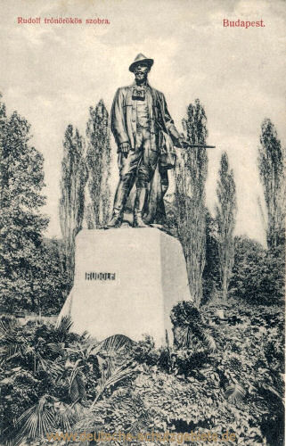 Budapest, Kronprinz Rudolf-Denkmal