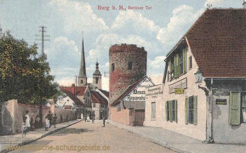 Burg b. M., Berliner Tor