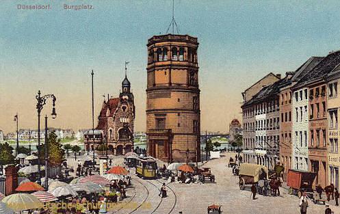 Düsseldorf, Burgplatz