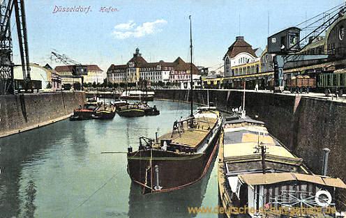 Düsseldorf, Hafen