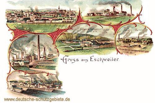 Eschweiler, Eisenhütte, Phönix, Concordia-Grube