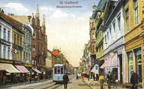 M.-Gladbach, Hindenburg-Straße