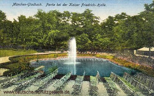 München-Gladbach, Partie bei der Kaiser Friedrich-Halle