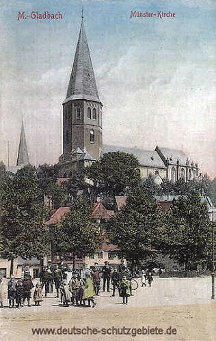 M.-Gladbach, Münster-Kirche