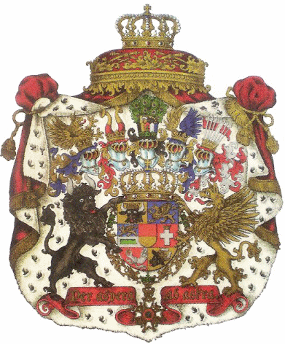 Großherzogtum Mecklenburg-Schwerin, Großes Staatswappen