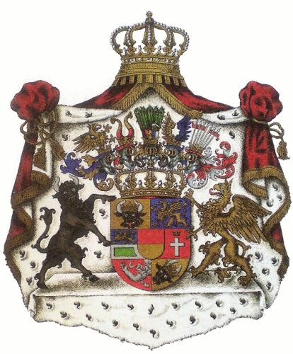 Großherzogtum Mecklenburg-Strelitz, Großes Staatswappen