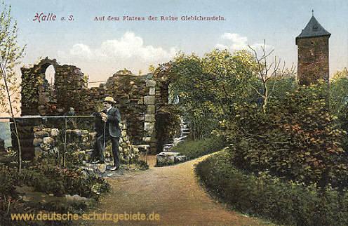 Halle, Auf dem Plateau der Ruine Giebichenstein