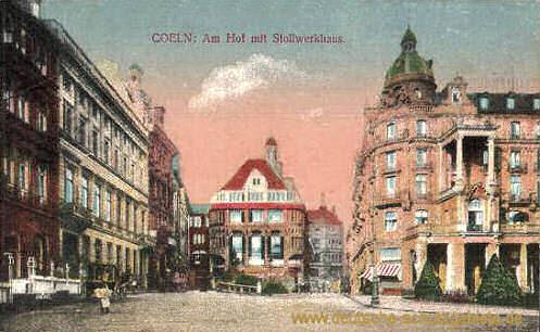 Köln, Am Hof mit Stollwerkhaus
