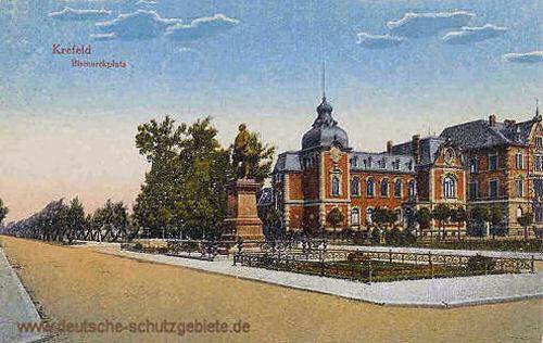 Krefeld, Bismarckplatz