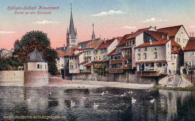 Kreuznach, Partie an der Ellerbach