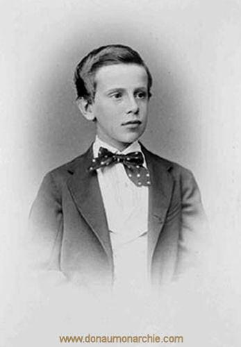 Kronprinz Rudolf, 1870
