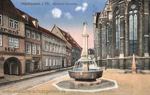 Mühlhausen i. Thür., Bismarck-Brunnen