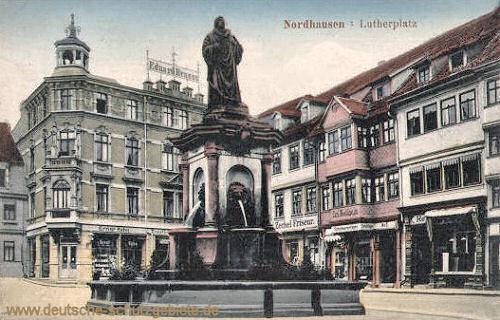 Nordhausen, Lutherplatz
