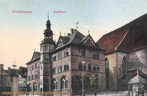 Nordhausen, Rathaus