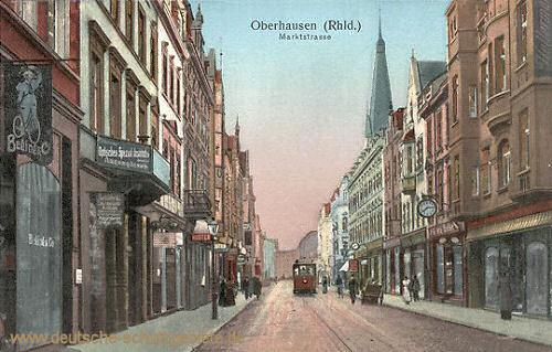Oberhausen, Marktstraße