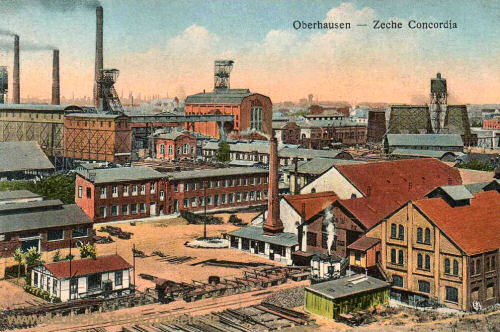 Oberhausen, Zeche Concordia