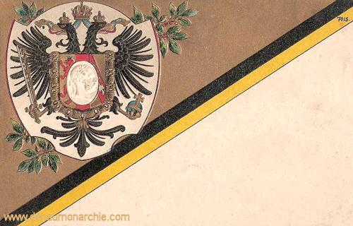 Österreich, Wappen, Reichsfarben