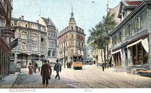 Remscheid, Markt