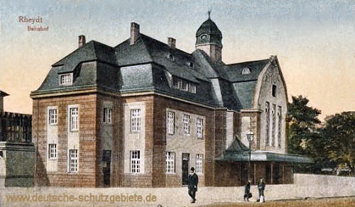 Rheydt, Bahnhof