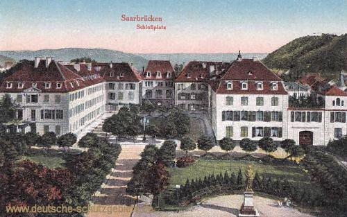Saarbrücken, Schlossplatz