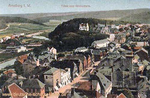 Arnsberg, Totale vom Glockenturm