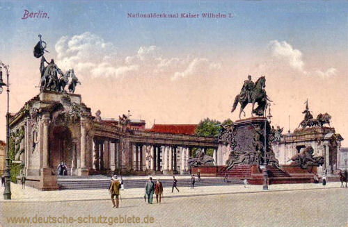 Berlin, Nationaldenkmal Kaiser Wilhelm I.