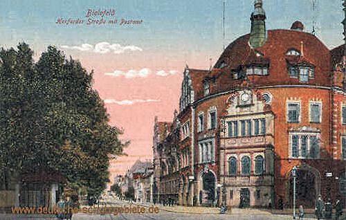 Bielefeld, Herforder, Straße, Postamt