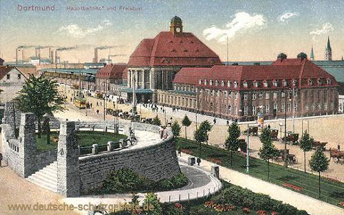 Dortmund, Hauptbahnhof und Freistuhl