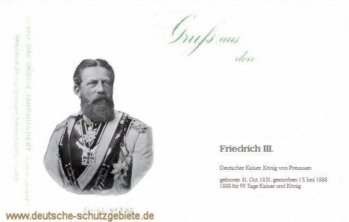 Friedrich der Dritte