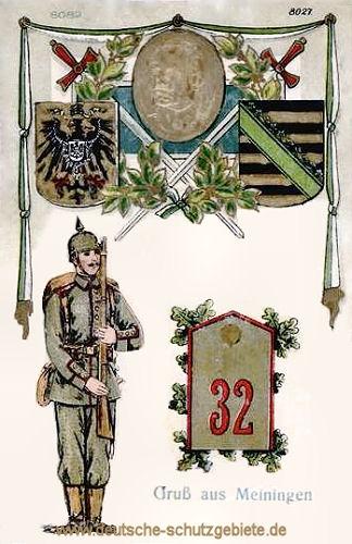 Herzogtum Sachsen-Meiningen, Regiment Nr. 32