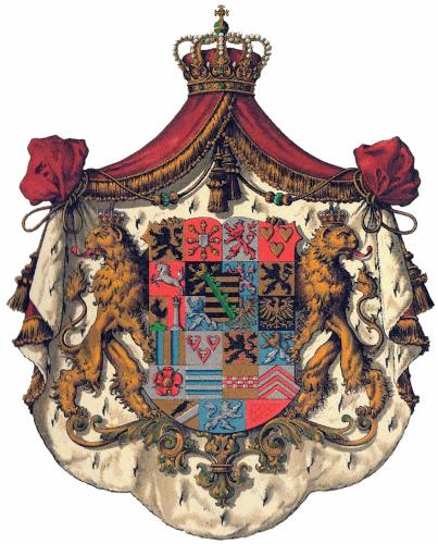 Herzogtum Sachsen-Coburg-Gotha, Großes Staatswappen