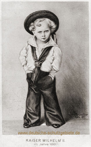 Kaiser Wilhelm II. 1861