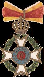 Militär. Karl Friedrichs Verdienstorden