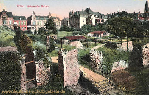 Trier, Römische Bäder
