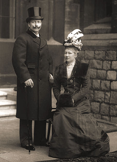 Wilhelm II. mit Auguste Viktoria